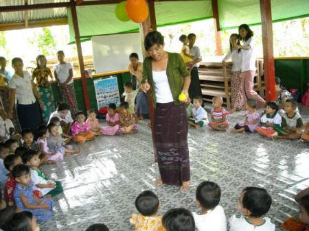 Myanmar Child Friendly Space